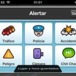Reportes del trafico en Waze